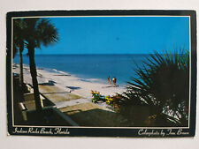 Indian Rocks Beach Florida Picture Postcard Postmarked 1987