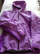 Helly Hansen W seattle performance rainwear hooded jacket lilac M new with tags.