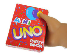 Mini Uno Card Game works for 18 inch American Girl Dolls Accessories