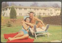 1971 Bikini Couple 35mm Color Slide Kodachrome Transparency Kodak
