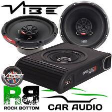 Volkswagen Golf MK6 2008 On Vibe 900W Underseat Sub & Front Door Car Speaker Kit