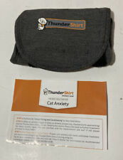 ThunderShirt Cat Anxiety Jacket in solid Gray, Size Small No Box Never Used