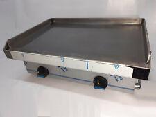 Plancha bar a gas palastro 60 cm largo, 8 mm de espesor, profesional hosteleria