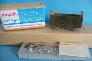 Boxed Mopok Models Brass & White Metal 4mm Kit Built - GWR Damo B Car Van