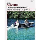 CLYMER SUZUKI OUTBOARD MOTOR DT 2 4 6 8 9.9 15 20 Engine Service Workshop Manual