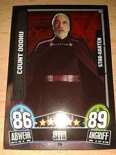 Force Attax Star Wars Serie Movie 3 Star-Karte 219 Count Dooku Sammelkarte Cards