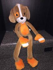"Stretch Kins Cuddly Puppy Dog Soft Plush Toy 30"" Tall Boys Dog and Door Hanger"