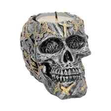 Cranial Blade 10cm (Set Of 4) Skull Candle/Tealight Holder