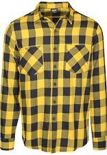 Camicia maniche lunghe Urban Classics – controllato flanella Nero/grigio Tb297-b S (small)