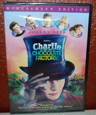 ~NEW~ Charlie and the Chocolate Factory (DVD, 2005, Widescreen) ~128