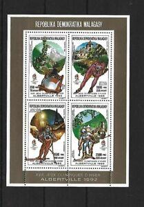 Madagascar,1990,Olympic,MNH