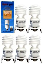 5x Soft White Energy Saving Mini Spiral Bulb 3 Way 11/20/26W = 50/75/100W E26
