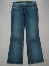 PH11418 **AMERICAN EAGLE** HIPSTER RELAXED FLARE WOMENS JEANS sz8R DARK