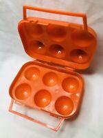 ECHT ! - Vintage Retro Eier-Brotzeitbox  (70er/80) in gutem Zustand 👍