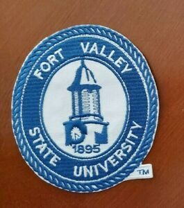 Fort Valley State University Iron on Patch