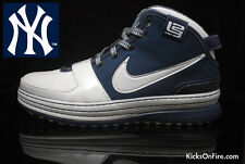 Nike Zoom LeBron 6 VI New York Yankees Size 12. 346526-111 what the mvp 10 11