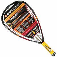 E-Force Bedlam 170 Lite Racquetball Racquet, PRE STRUNG, Grip 3 5/8 , Brand New