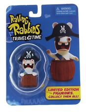 """Raving Rabbids Travel in Time 2.5"""" Pirate Figure Brand New & Sealed- TOY-0498-3"""