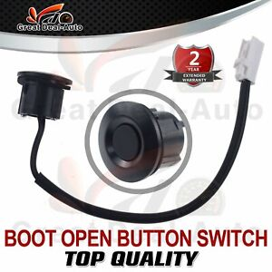 For Mazda 3 BL 2009-2013  Boot Tailgate Trunk Button Switch Opener Unlock Black