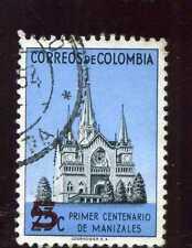 CATEDRAL MANIZALES - CALDAS  ,- Ovptd.   >>>>COLOMBIA