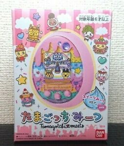 BANDAI Tamagotchi Meets Sweets Meet ver. Pink Color Sweets World