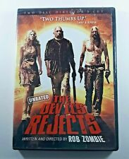DVD The Devil's Rejects Unrated - Rob Zombie - WITH ORIGINAL CASE & Insert