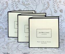 x3 JO MALONE Peony & Blush Suede Cologne 1.5 ml / 0.05 oz each