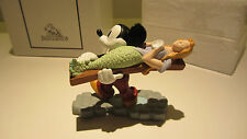 Extremely Rare! Disney Mickey Mouse Building a Boat Demons & Merveilles Statue