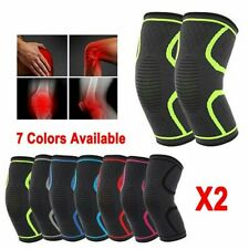 2X Neoprene Knee Brace Support Pad Guard Arthritis Pain Gym Sports Protector