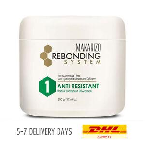 [MAKARIZO] Rebonding System Straightening Anti Resistant for Colored Hair 500g