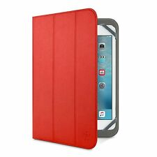 "Belkin Universal Tri-Fold Cover Case Samsung Galaxy Note 10.1"" & 10.1 2014 Red"