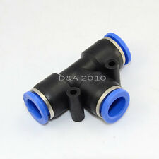 Pneumatic Tee Union Nylon Tube OD 12mm One Touch Push In Air Fitting Quality