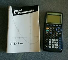 Texas Instruments TI -83 Plus Graphic Calculatrice Très bon état