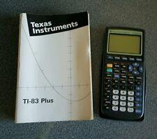 Texas Instruments TI -83 Plus Graphic Calculator VGC