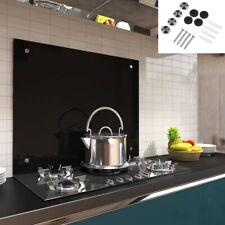 Fliesenspiegel 100x60CM Küchenrückwand Schwarz Spritzschutz Herdspritzschutz �Ÿ�
