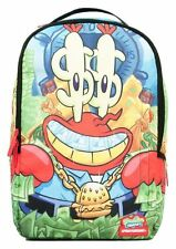 SPRAYGROUND SPONGEBOB MONEY CRABS KRABS 2.0 URBAN BACKPACK LAPTOP DOLLARS BLING