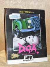 D.O.A. - A Right of Passage (Blu-ray/DVD, 2017, 2-Disc) NEW Sid Vicious Iggy Pop