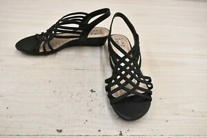 Naturalizer Remix Sandals, Women's Size 8.5 W, Black NEW