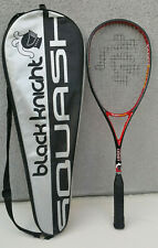 Black Knight Magnum Orbit Squash Racquet Racket Rf-89 Stiff 140g 475cm & Case