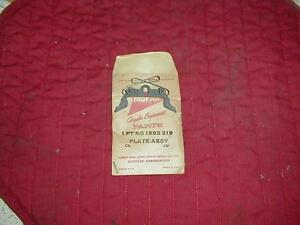 NOS MOPAR 1955-6 TURN SIGNAL SWITCH OPERATING PLATE