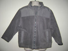 THE CHILDREN'S PLACE BOYS FLEECE JACKET COAT size XS 4 GRAY GREY