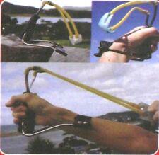 SlingShot Folding Sling Shot Rocket Wrist High Velocity Powerful Hunting Outdoor