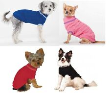 Classic Cable Dog Sweater - XXXS to XXL - 4 Colors - full coverage - full length