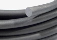 Cavo di gomma, anello o cavo di neoprene SPUGNA NERO 3mm di diametro x 1M