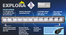 Narva Explora LED Driving Light Bar with Bracket & Loom 72272 72292 74401