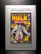 COMICS: Marvel Masterworks: The Incredible Hulk #1-6 hardcover (1st Print)