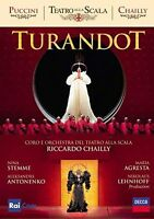 TURANDOT Orchestra della Scala Riccardo Chailly DVD NEW .cp