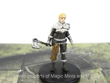 Tyranny of Dragons ~ HUMAN FEMALE BARBARIAN #13 Icons the Realms D&D miniature