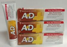 4/Pack - A+D First Aid Ointment + Skin Protectant with Vitamins A & D, 1.5 oz