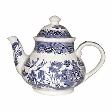 Churchill China Blue Willow Georgian 1.2L Teapot